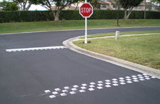 Hy-Viz pavement markers, reflective pavement markers in any color!